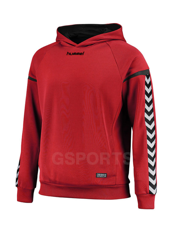 hoodie-hummel-authentic-charge-poly-rouge