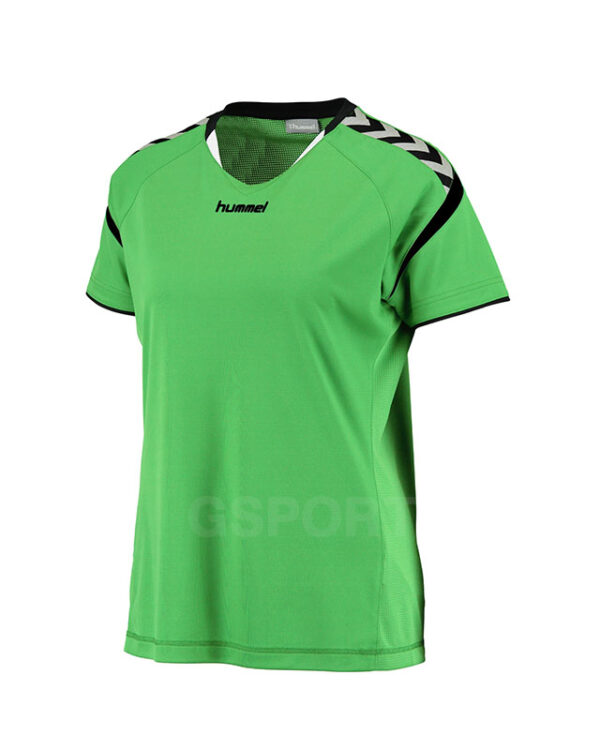 maillot-hummel-authentic-charge-lady-vert-fluo