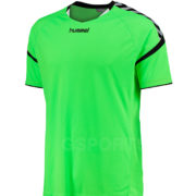 maillot-hummel-authentic-charge-men-vert-fluo