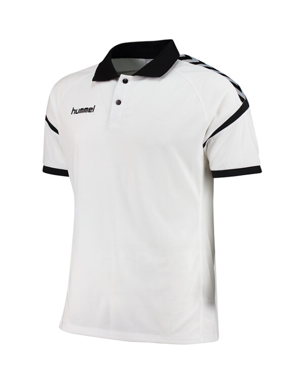 polo-hummel-authentic-charge-club-blanc