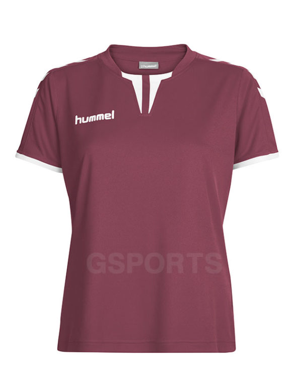 maillot-hummel-core-lady-bordeaux