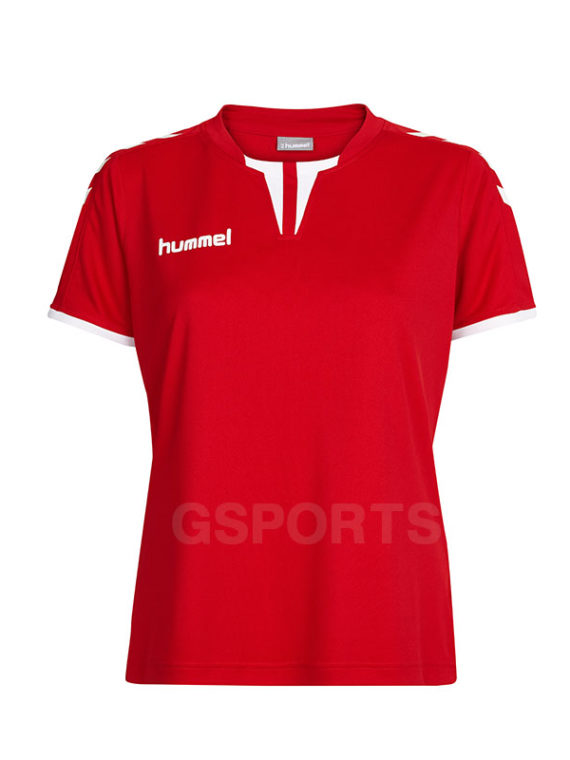 maillot-hummel-core-lady-rouge