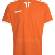 maillot-hummel-core-orange-blanc