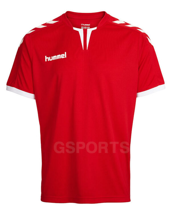 maillot-hummel-core-rouge-blanc