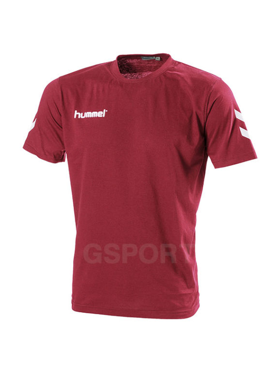 tee-hummel-core-rouge