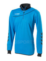 sweat-hummel-corporate-demi-zip-aqua